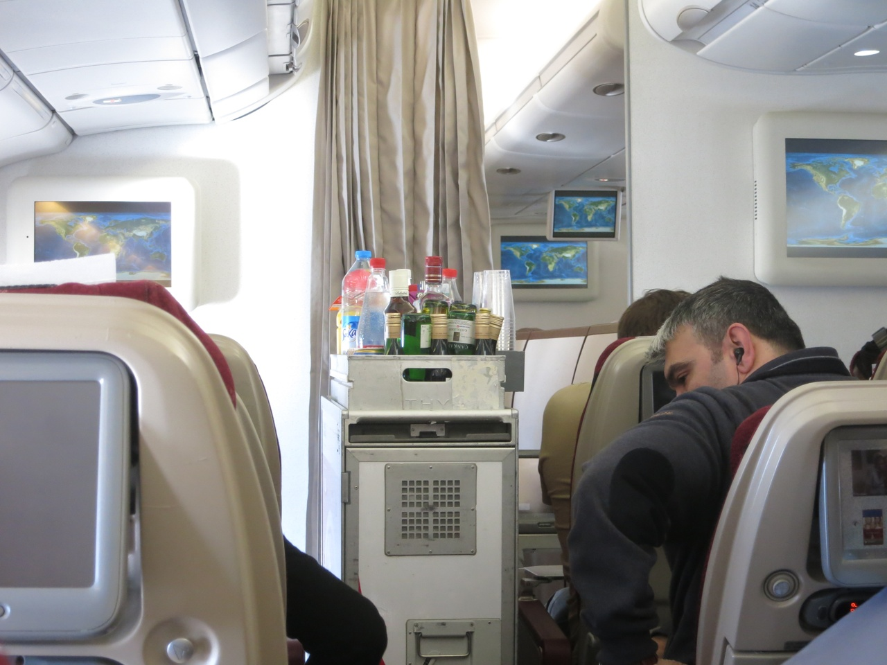 Turkish Airlines Economy class A330, - Jet Airways wet lease, 019.JPG