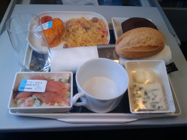 Air France Business class, CDG-ARN.jpg