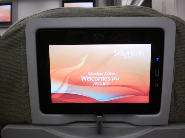 SriLankan Airlines Economy class A340_IFE_01.jpg