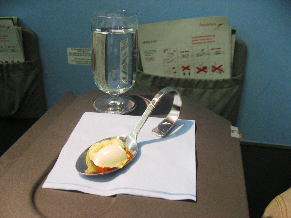 Austrian Airlines Business Class Airbus A321 Wien-London Heathrow