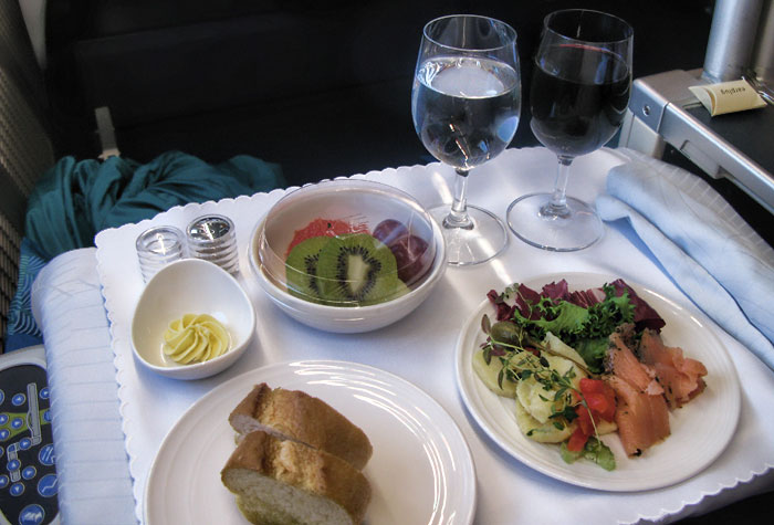 Malaysia Airlines Business Class Boeing 777 Stockholm-New York