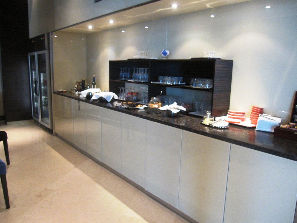 Malev Business Class Lounge i Budapest