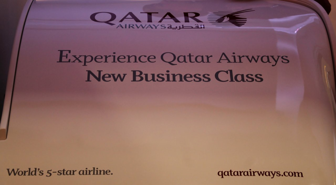 Qatar Airways nya business class på Boeing 787 Dreamliner