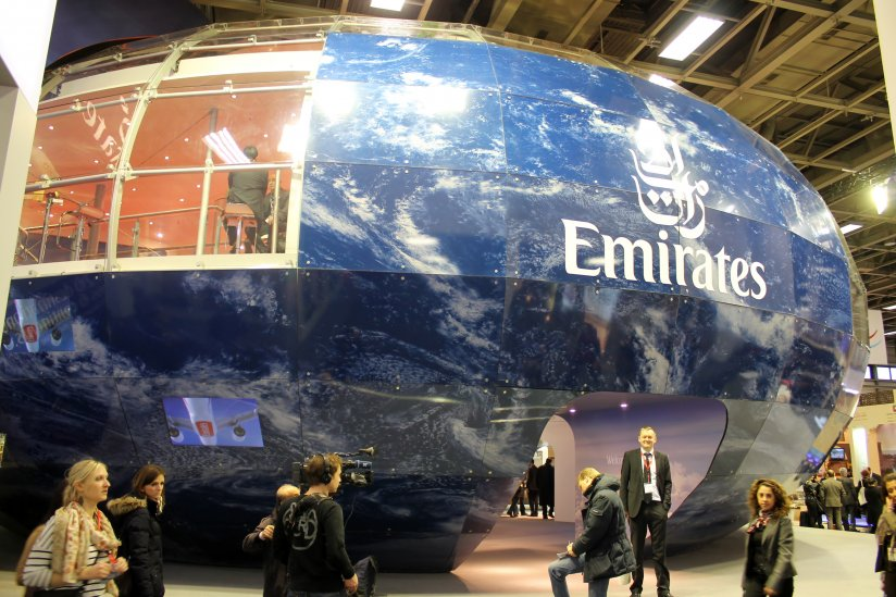 Emirates pampiga monter