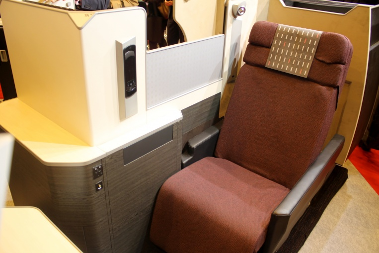 Japan Airlines nya Business Class - Sky Suite