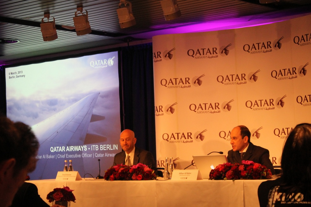 Qatar Airways VD Akbar Al Baker