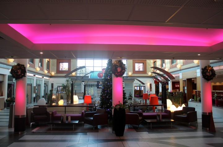Novotel London Heathrow: Lobbyn