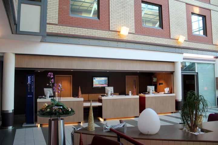 Novotel London Heathrow: Receptionen