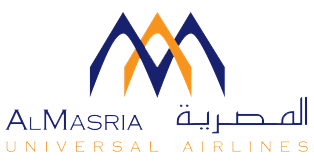 AlMasria Universal Airlines UJ logo PNG
