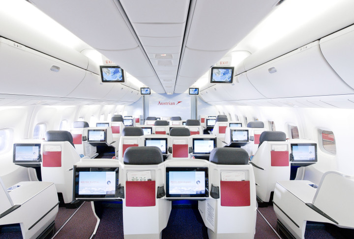 Austrian Airlines nya business class