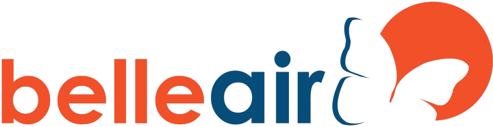 Belle Air LZ logo PNG