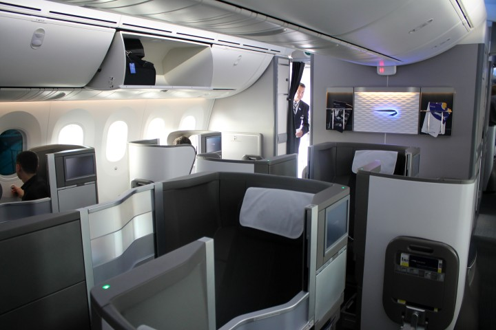 British Airways Business Class Dreamliner London-Stockholm