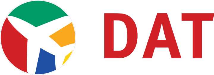 Danish Air Transport (DX) logo PNG