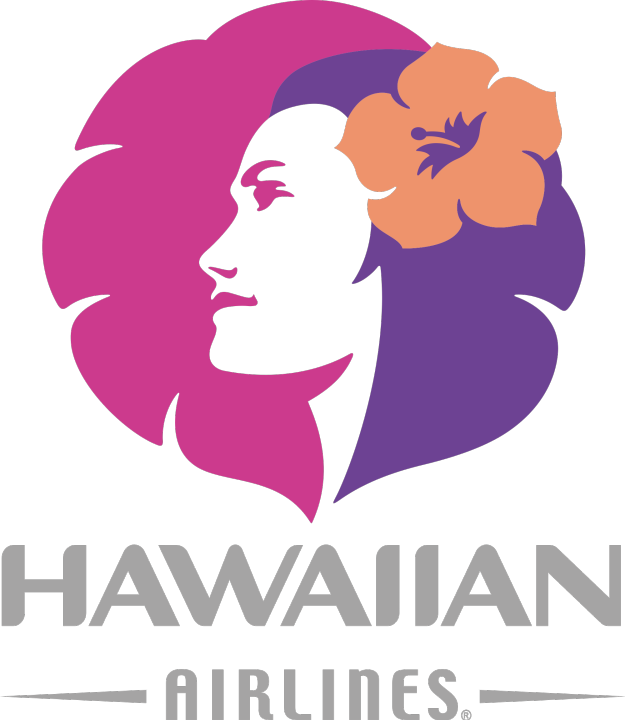 Hawaiian Airlines (HA) logo PNG
