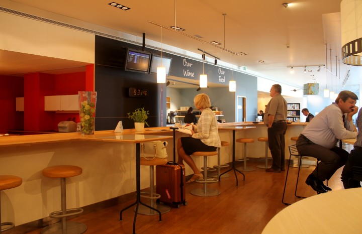 SAS Lounge, Bryssel National
