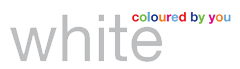 White colored by you logo (WI) PNG