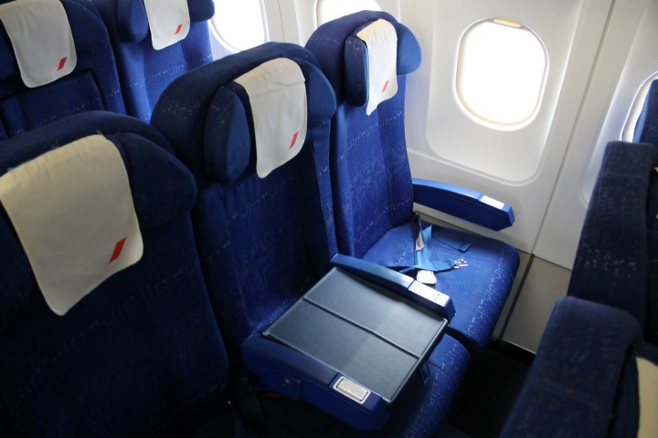Air France Business Class Stockholm-Paris