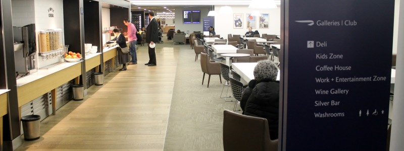 British Airways Galleries Club Lounge, London Heathrow Terminal 3