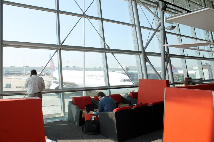 Brussels Airlines Sunrise Lounge, Bryssel