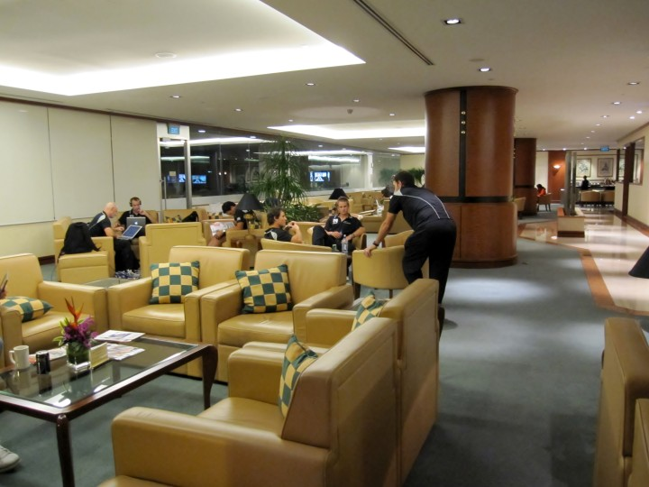 Emirates Lounge, Singapore Changi