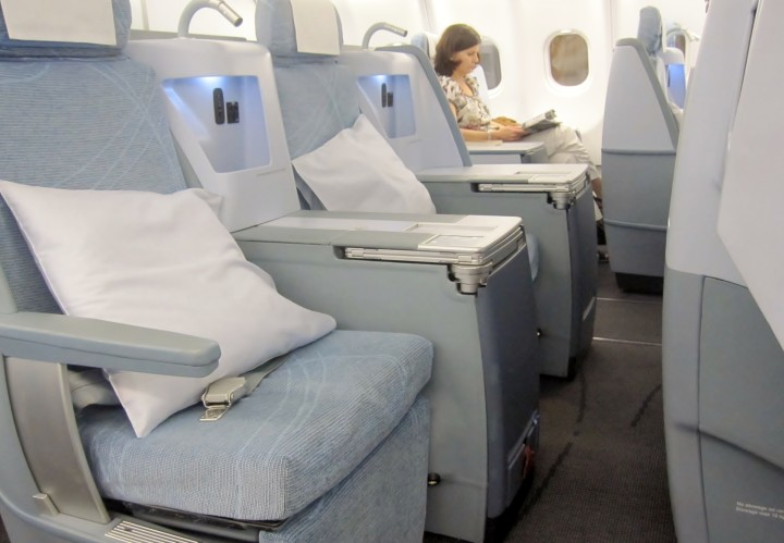Finnair Business Class Helsingfors-Bangkok