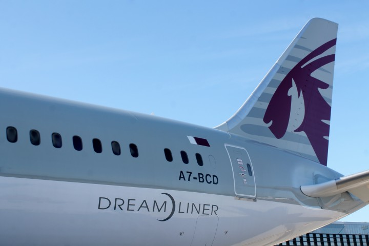 Qatar Airways Boeing 787 Dreamliner