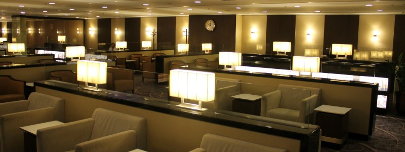 Singapore Airlines Silverkris Lounge, Hong Kong