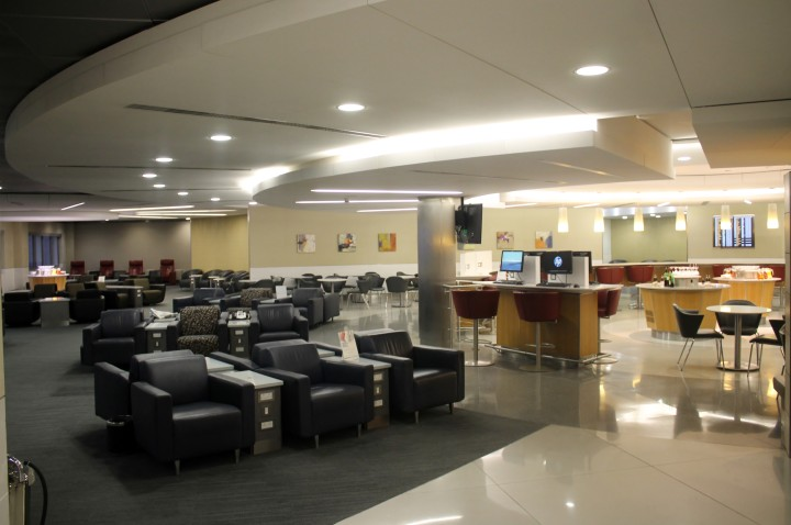 American Airlines Admirals Club, London Heathrow Terminal 3
