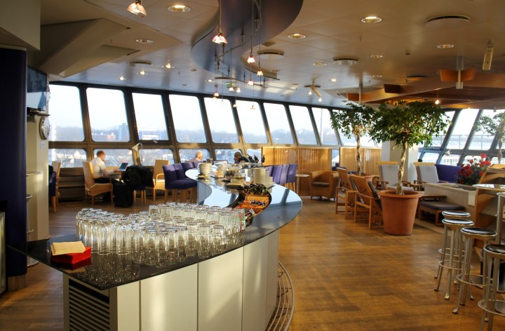 British Airways Terraces Lounge, Berlin Tegel