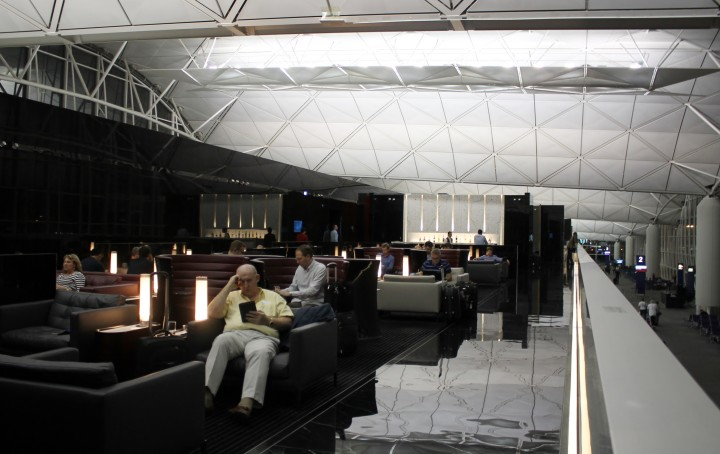 Cathay Pacific First Class Lounge The Wing, Hong Kong