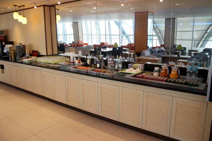 Eva Air Lounge, Bangkok