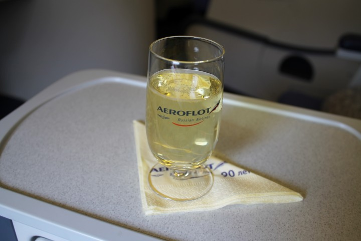 Aeroflot Business Class Moskva-New York JFK