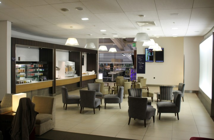 British Airways Galleries Club Lounge, London Heathrow Terminal 5 Pier B