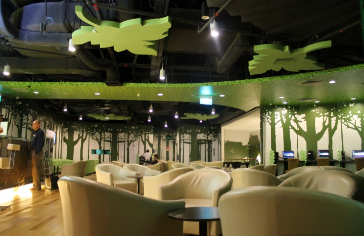 Rainforest by SATS Lounge, Singapore Changi, Terminal 1