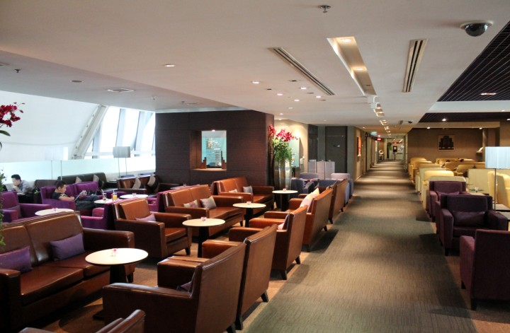 Thai Airways Royal Silk Lounge, Bangkok Suvarnabhumi, D-pier