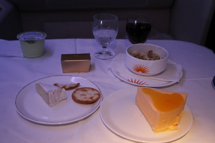 Air India First Class Seoul Incheon-Hong Kong