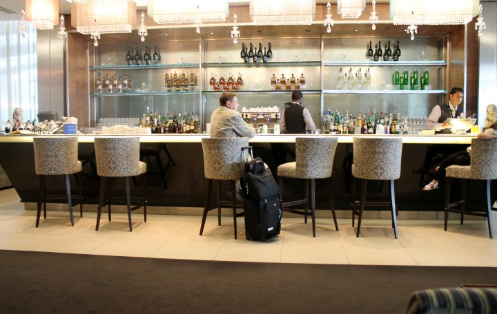 British Airways Concorde Room, London Heathrow Terminal 5