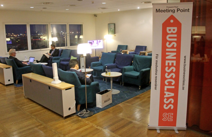 BusinessClass Meeting Point SAS Lounge London Heathrow