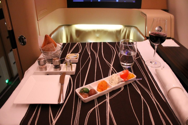 Etihad Diamond First Class Paris-Abu Dhabi