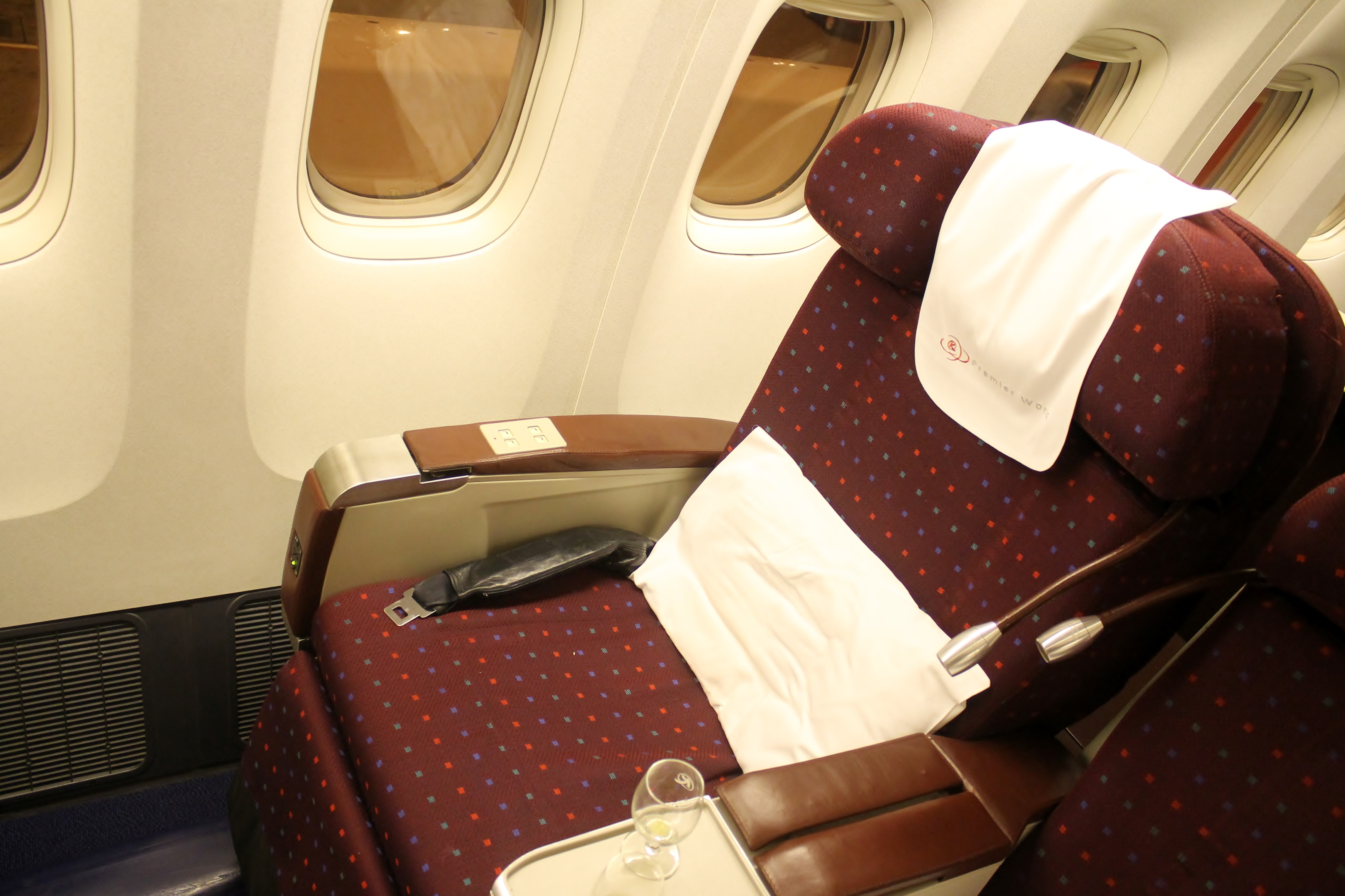 Review Kenya Airways Business Class Premier World