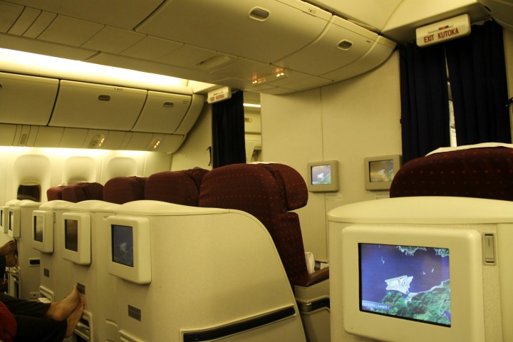 Kenya Airways Business Class Hong Kong-Bangkok