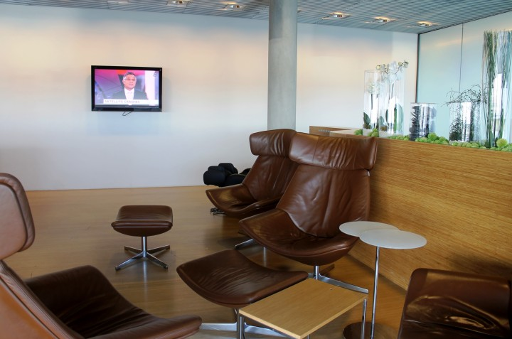 Luxair Lounge Luxemburg