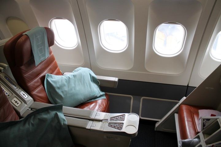 SriLankan Business Class Airbus A330 Bangkok-Hong Kong
