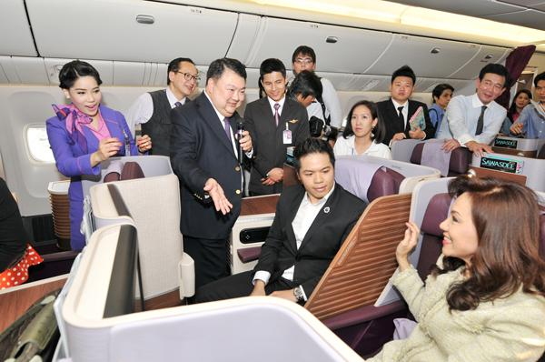 Thai Airways New Business Class