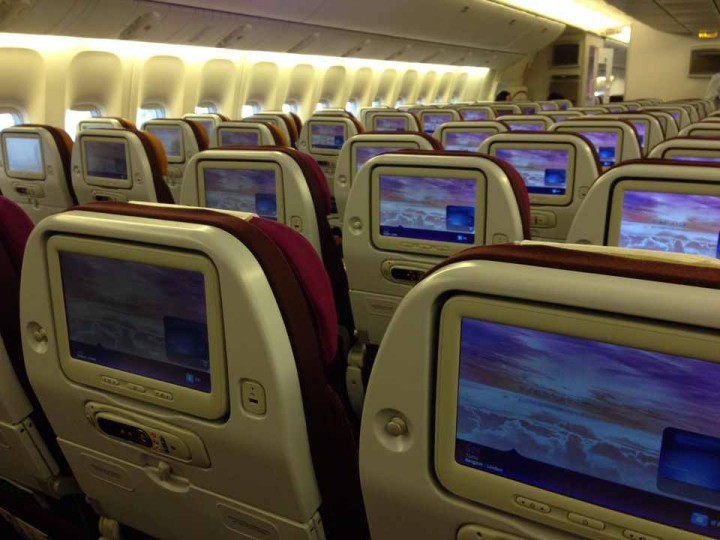 Thai Airways New Economy Class