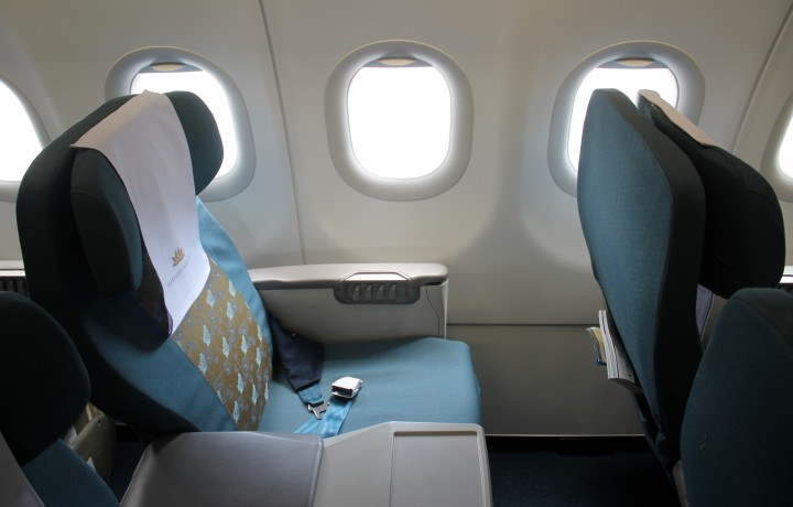 Vietnam Airlines Business Class Bangkok-Hanoi