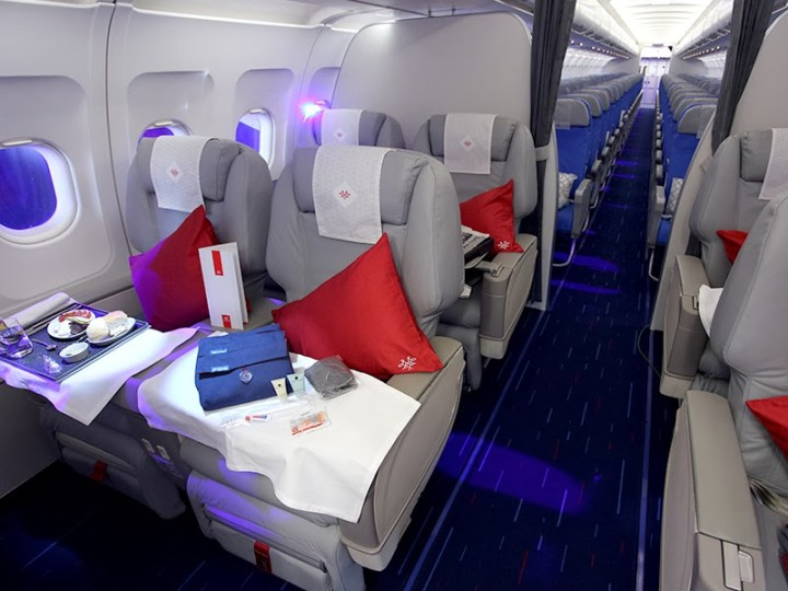 Air Serbia Business Class Airbus A319