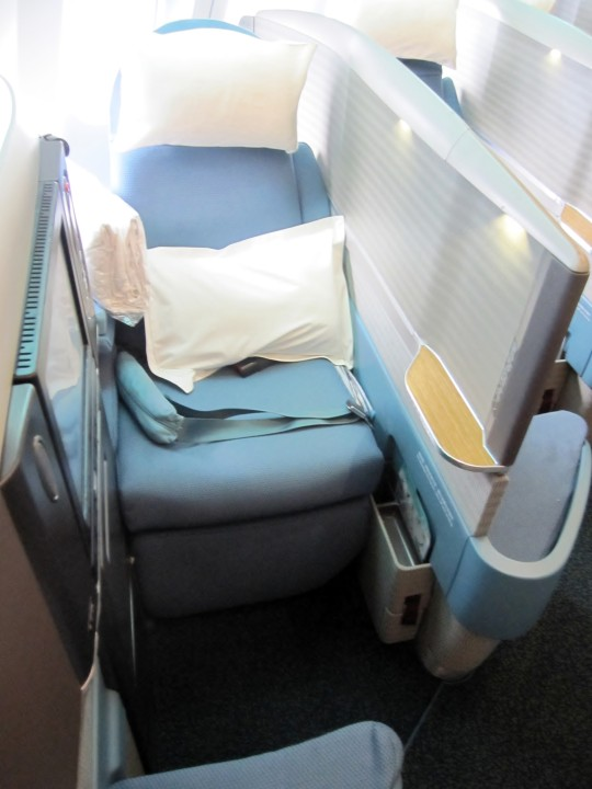 Cathay Pacific Business Class seat Airbus A340