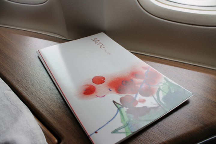 Cathay Pacific First Class Manila-Hong Kong