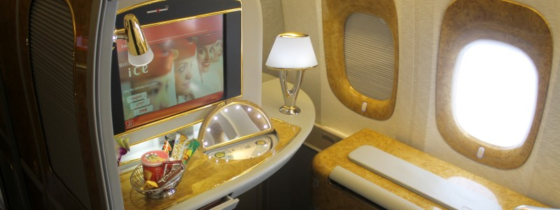 Emirates First Class Suite Boeing 777-300